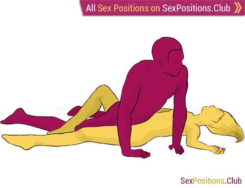 Sex position #16 - Tornado. (criss cross, man on top). Kamasutra - Photo, picture, image