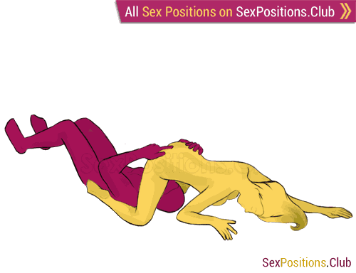 Sex position #170 - Valedictorian. (cunnilingus, kneeling, oral sex, woman on top). Kamasutra - Photo, picture, image