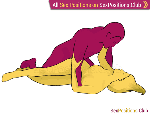 Sex position #91 - Iris. (from behind, man on top, rear entry). Kamasutra - Photo, picture, image