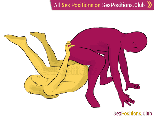 Sex position #175 - Overpass. (man on top, reverse). Kamasutra - Photo, picture, image