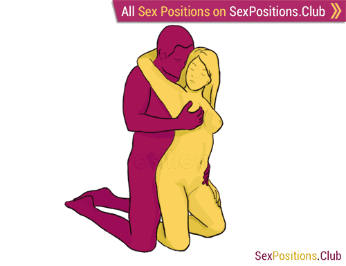 Sex position #189 - Oath. (from behind, kneeling, rear entry, standing). Kamasutra - Photo, picture, image