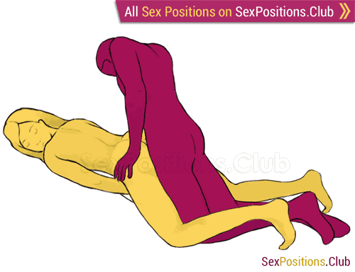 Sex position #95 - Flatiron. (doggy style, from behind, kneeling, man on top, rear entry). Kamasutra - Photo, picture, image