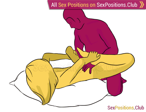 Sex position #119 - Barberry. (doggy style, from behind, rear entry). Kamasutra - Photo, picture, image