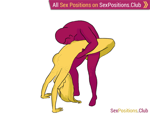 Sex position #120 - Aquarius. (standing). Kamasutra - Photo, picture, image