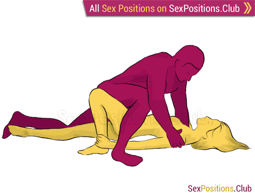 Sex position #228 - Spring. (face to face, man on top). Kamasutra - Photo, picture, image
