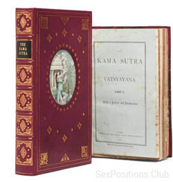The first edition of the Kamasutra 1883