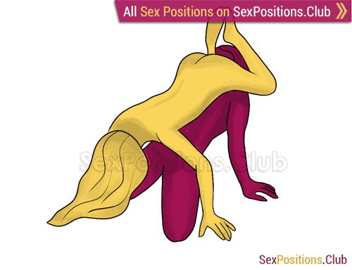 Sex position #343 - American Pie. (69 sex position, oral sex). Kamasutra - Photo, picture, image