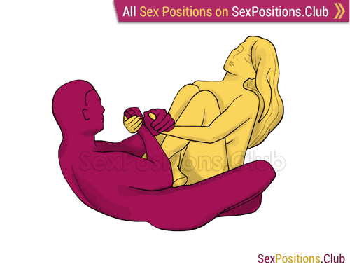 Sex position #320 - Tantric cosmo. (sitting). Kamasutra - Photo, picture, image