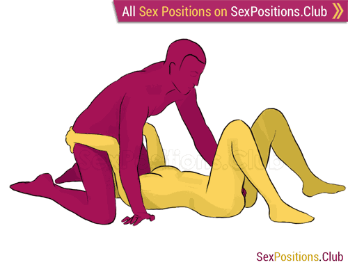 Sex position #123 - Mirage. (blowjob, kneeling, man on top, oral sex). Kamasutra - Photo, picture, image