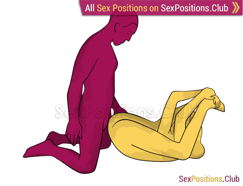 Sex position #275 - Beautiful view. (anal sex, right angle). Kamasutra - Photo, picture, image