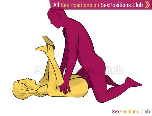 Sex position #302 - Intimate launch pad. (anal sex, right angle). Kamasutra - Photo, picture, image